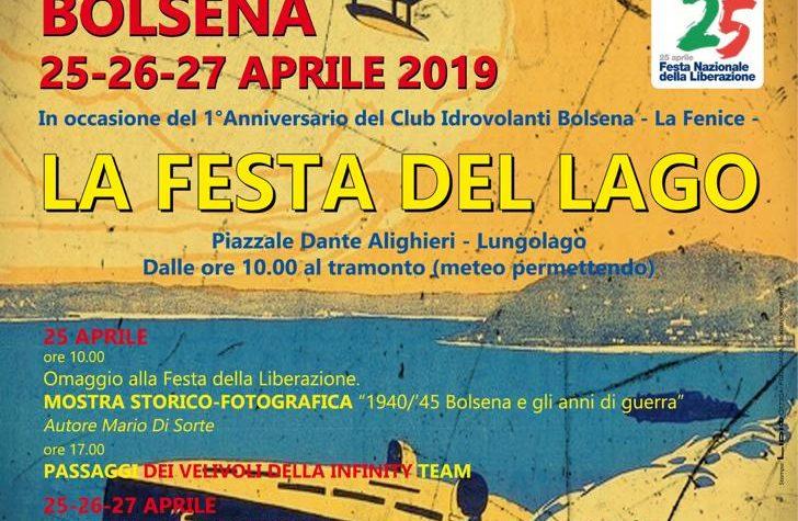 25-26-27 Aprile 2019: La Festa Del Lago